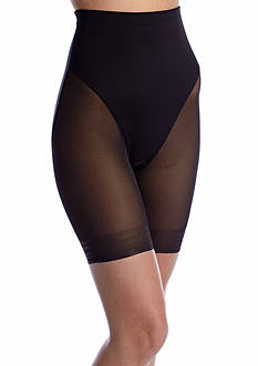 Naomi & Nicole Sheer Hi-Waist Thigh Slimmer featuring Wonderful Edge - 7909