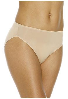 Naomi & Nicole Wonderful Edge® Microfiber Modern Hi-Cut Brief - A144