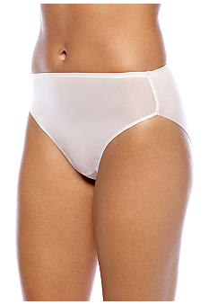 Naomi & Nicole Wonderful Edge Microfiber Modern Hi-Cut Brief - A144
