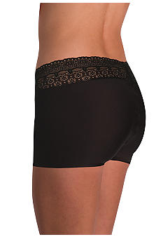 Naomi & Nicole Wonderful Edge Microfiber with Lace Boyshort - A166