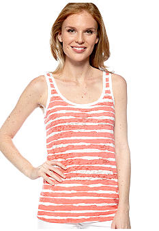 HUE Sophie Strike Tank Top