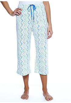 HUE Striped Dot Pajama Pant