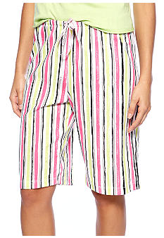 HUE Striped Bermuda Sleep Short