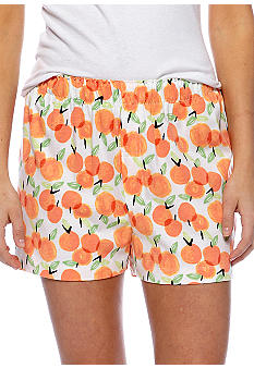 HUE Orange Peel Boxer Sleep Short