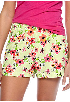 HUE Life in the Flowers Boxer Sleep Short