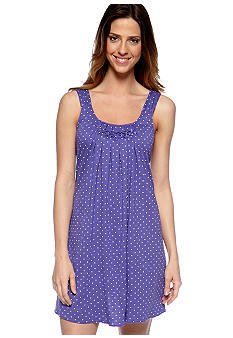 HUE Rio Dots Chemise with Diamond Pleating