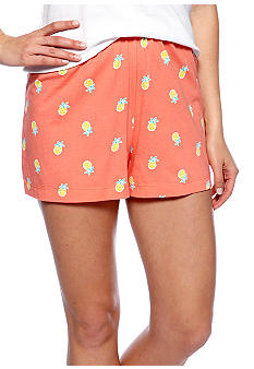 HUE Pineapple Boxer Sleep Short
