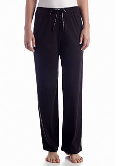 HUE Solid Knit Sleep Pant