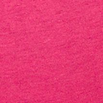 Sleepwear for Women: Essentials: Fuchsia Pink HUE Solid V-Neck Short Sleeve Sleep Tee