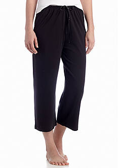 HUE Solid Sleep Capri