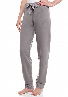 HUE Quilted Jogger Pajama Pant