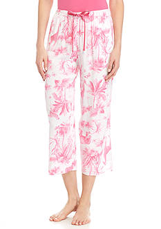 HUE Jungle Toile Challis Capris