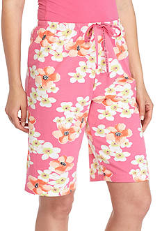 HUE Tropical Nectar Bermuda Shorts