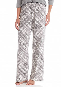 HUE Etching Plaid Pants