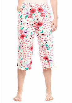 HUE June Bloom Culottes Pants