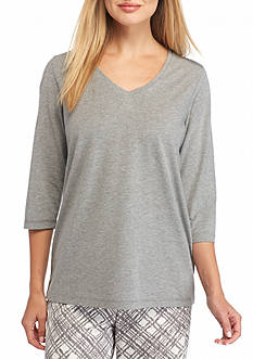 HUE Three Quarter Sleeve Tee