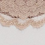 Women: Bikini Sale: Atlas Ivory New Directions Intimates Cozy in Lace Bikini - B130403