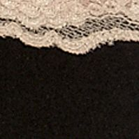 Women's Bikini Underwear: Black /Cuban Sand New Directions Intimates Cozy in Lace Bikini - B130403