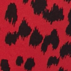 Women's Bikini Underwear: Red Animal ND Intimates Rebel Yell Bikini - B132249