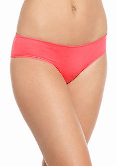 New Directions Intimates Rouched Back Cotton Hipster - H134877