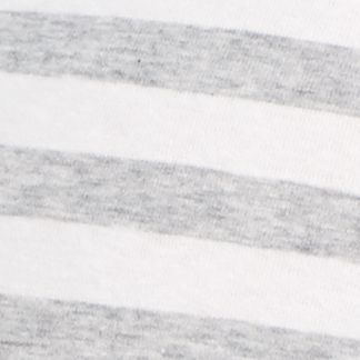 New Directions®: Gray White Stripe New Directions Cross Over Lace Cotton Hipster