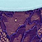 Luxury Lingerie: Surf/Bloom Honeydew Intimates Emma Hipster - 374408