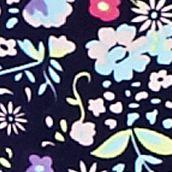 Luxury Lingerie: Night Sky Floral Honeydew Intimates Skinz Thong - 540243