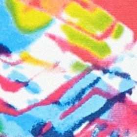 Women's Hipster Panties: Tie Dye Honeydew Intimates Skinz Hipster - 540412