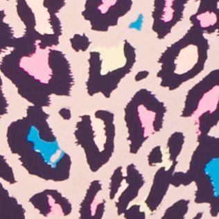 Women's Hipster Panties: Coconut Leopard Honeydew Intimates Skinz Hi-Rise Hipster - 540427