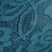 Luxury Lingerie: Teal Free People Racerback Crop Bra - F040O835