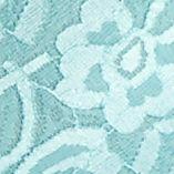 Luxury Lingerie: Misty Teal Free People Racerback Crop Bra - F040O835