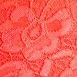 Luxury Lingerie: Neon Red Free People Racerback Crop Bra - F040O835
