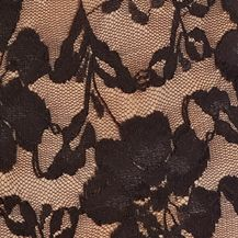 Bridal Shapewear: Black Free People Lace Bodysuit - F119L644