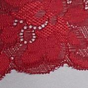 Average Figure Bra: Crimson Combo Free People Shimmy Bra - F382F173