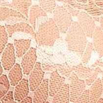 Average Figure Bra: Cantaloupe Free People Essential Lace Bandeau - F511O406A
