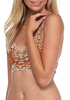 Free People Galloon Cross Dye Racerback Bra - OB409418
