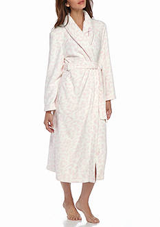 Kim Rogers Printed Breast Cancer Robe
