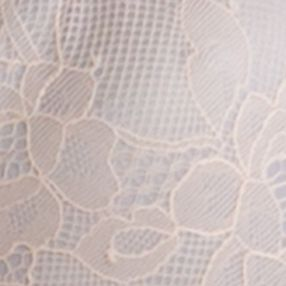 Designer Bras: Soft Nude SPANX Pillow Cup Lace Unlined Full Coverage - SF1015