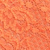 Junior Panties: Flame Orange Cosabella Never Say Never Lace Hot Pants