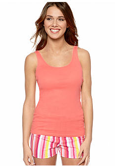 ND Intimates Ribbed Knit Sleep Tank