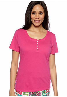 ND Intimates Henley Sleep Tee