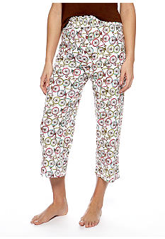 ND Intimates Bicycle Print Capri Pajama Pant