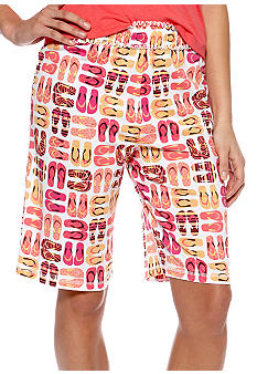 ND Intimates Flip Flop Print Bermuda Sleep Short