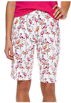 ND Intimates Flamingo Print Bermuda Sleep Short