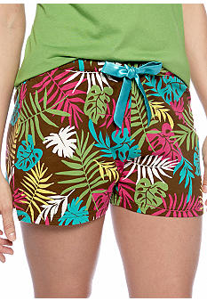 ND Intimates Tropical Knit Sleep Short