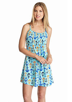 New Directions Intimates Tuckfront Anchor Chemise