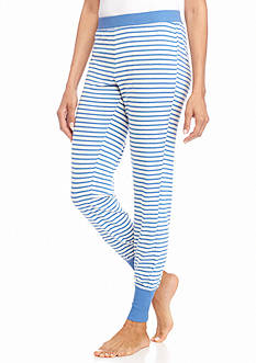 New Directions Intimates Blue Stripe Jogger