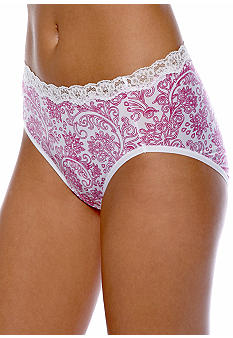 ND Intimates Microfiber Hi-Cut with Stretch Lace Waist - 231203