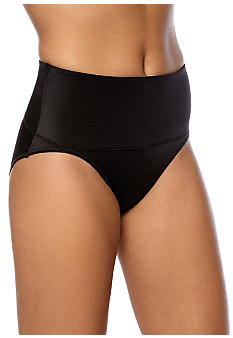 ASSETS Red Hot Label BY SPANX Cheeky Control Tummy Tamer Hi-Cut Brief - 1696