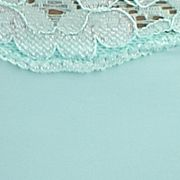 Women's Bikini Underwear: Ocean Mint ND Intimates Lace Trim Bikini - B91192P
